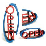 CM Global - VH-01-RS - Swivel LED Open Sign with Remote image