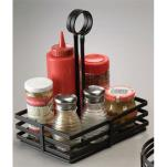 "American Metalcraft - FWC68 - 8"" x 6"" Flat Coil Condiment Basket image"