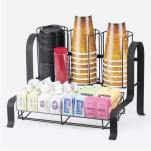 Cal-Mil - 1594-13 - 2-Tier Black Coffee Organizer image