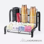 Cal-Mil - 1594-74 - 2-Tier Silver Coffee Organizer image