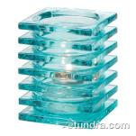 Hollowick - 1501AQ - Aqua Stacked Block Lamp image
