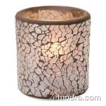Hollowick - 6351G - Crackle Gold Frosted Votive Lamp image
