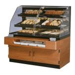 "Federal - BPFD-54SS - 54"" x 56"" Non-Refrigerated Self-Serve Floor Display Case image"