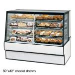 "Federal - SGR7748DZ - High Volume 77"" x 48"" Dual Zone Left/Right Bakery Case image"