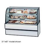 "Federal - CGR5948 - Curved Glass 59"" x 48"" Refrigerated Bakery Case  image"
