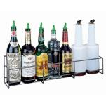 San Jamar - B5636SG - 9-Bottle Wire Speed Rack image
