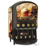 Grindmaster - PIC5I - 5 Flavor Hot Chocolate/Cappuccino Dispenser with Side Merchandiser image
