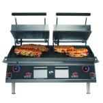 "Star - CG28IE - Pro-Max® 28"" Grooved Sandwich Grill w/ Electronic Timer image"