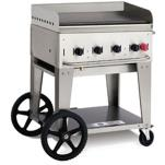 "Crown Verity - MG-30NG - Mobile 30"" NG Griddle image"