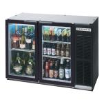 "Beverage Air - BB48GY-1-B - 48"" Glass Door Back Bar Cooler image"
