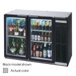 Beverage Air - BB48GY-1-S - 48 in Glass Door Back Bar Cooler image