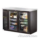 True - TBB-24-48G-LD - 49 in Back Bar Cooler w/ 2 Glass Doors image