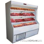 "Howard McCray - SC-M32E-4-LS-B - 50"" x 72"" Black Meat Merchandiser image"