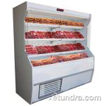 "Howard McCray - SC-M32E-6-LS - 74"" x 72"" White Meat Merchandiser image"