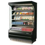"Turbo Air - TOM-50B - Black 51"" Open Display Merchandiser image"