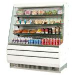 "Turbo Air - TOM-50MW - White 51"" Mid Height Open Display Merchandiser image"
