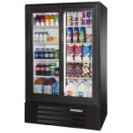 "Beverage Air - LV15-1-B - 36"" Lumavue™  Merchandiser w/ Sliding Doors image"