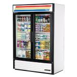 True - GDM-49-LD - 49 cu ft Refrigerated Merchandiser w/ 2 Swing Doors image