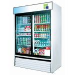 Turbo Air - TGM-48R - 48 cu/ft Refrigerated Merchandiser w/ 2 Sliding Doors image