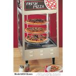 Nemco - 6452-2 - Pass Through Four Tier Pizza Merchandiser image