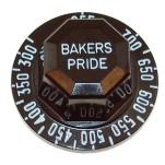 Baker's Pride - S1053X - 300° - 700° Thermostat Dial image
