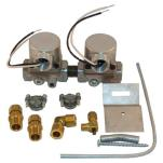 "Commercial - 3/8"" 120V Natural/ LP Gas Dual Solenoid Valve Kit image"