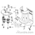 HMD400 - Hamilton Beach HMD400 Drink Mixer Parts image