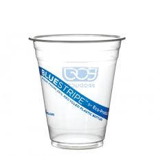 16 oz Recycled BlueStripe™ PET Cold Cups