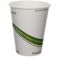 8 oz GreenStripe® Hot Cups