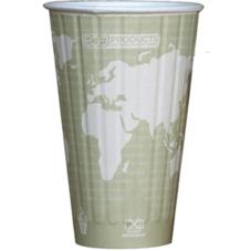 16 oz World Art™ Insulated Hot Cups