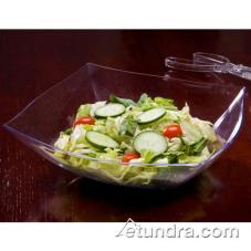 64 oz Clear Square Serving Bowl