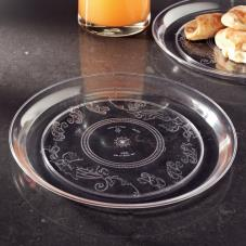 "12"" Clear Round Deli Tray"
