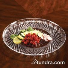 "16"" Clear Crystal Tray"