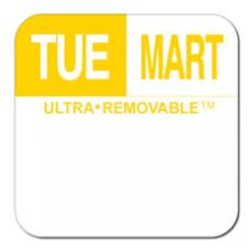 1 in Ultra-Removable™ Square Tuesday Label