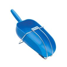 64 oz Blue Ice Scoop with Hanger