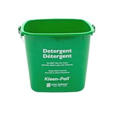 6 qt Kleen-Pail® Green Soap Bucket