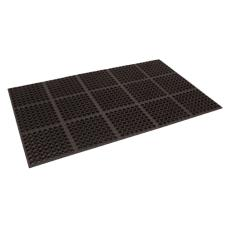 3 ft x 5 ft Black Floor Mat