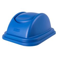 10 gal Blue Untouchable® Trash Can Lid