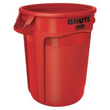 32 gal Red Brute® Trash Can