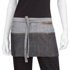 Black Manhattan Waist Apron