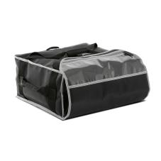 4-Box Black 3-Series 18 in Pizza Delivery Bag