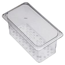 1/3 Size 3 in Deep Camwear® Colander Food Pan