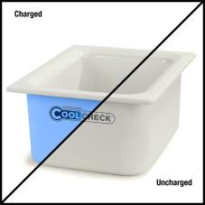 1/2 Size Coldmaster® CoolCheck Food Pan