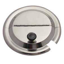 4 qt Hinged Inset Cover