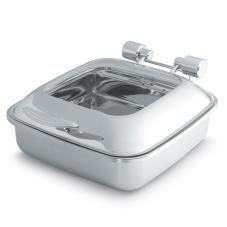 Intrigue™ Chafer w/Glass Top & Stainless Food Pan