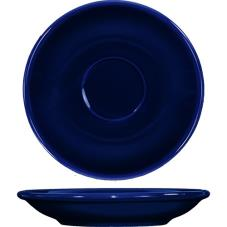 5 1/5 in Cancun™ Cobalt A.D. Saucer With Rolled edging