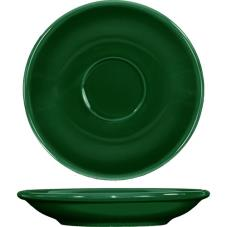 5 1/5 in Cancun™ Green A.D. Saucer With Rolled edging