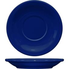 5 1/2 in Cancun™ Cobalt Saucer With Narrow Rim