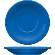 5 1/2 in Cancun™ Light Blue Saucer With Narrow Rim