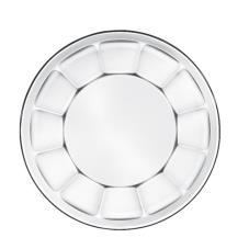 8 in Gibraltar® Glass Soup/Salad Plate